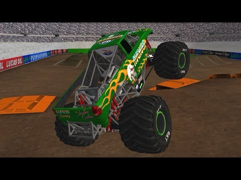 20 Truck WRA World Finals 3 Freestyle - Monster Jam Rigs of Rods