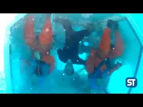 Underwater huet exercises
