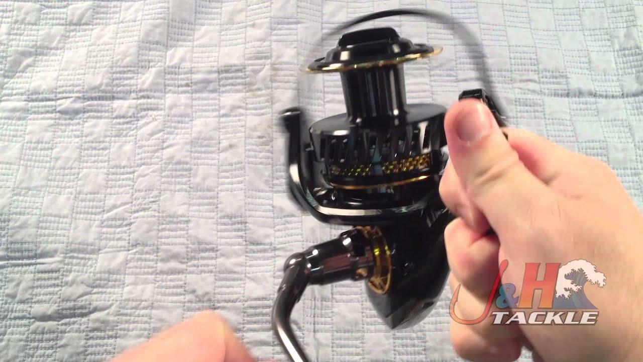 b2952e6aac8 Daiwa Saltiga Dogfight SATG7000HDF Spinning Reel - YouTube