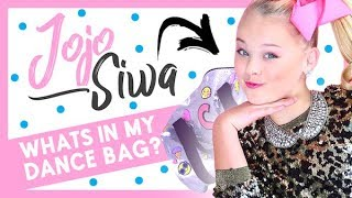 What's In My Dance Bag with Jojo Siwa