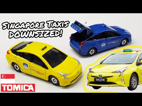 Downsized To PERFECTION? - Tomica Singapore Taxi Toyota Prius Review