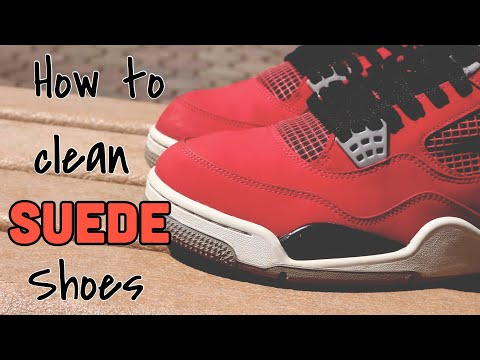 How to clean SUEDE shoes | Jordan