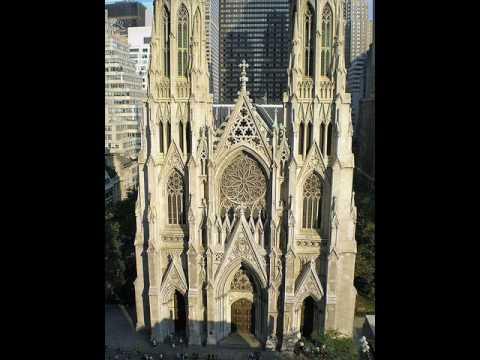 catholic cathedral... New York, USA (North America)