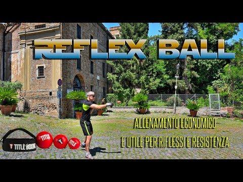 Allenamento con la reflex ball per migliorare i tuoi riflessi e precisione dei colpi nella boxe