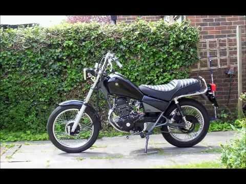 Yamaha SR125 Rebuild ~ Roy Harper Miles Remains