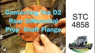 STC4858 Differential Pinion Flange fitting plus extra info about the square and round flanges