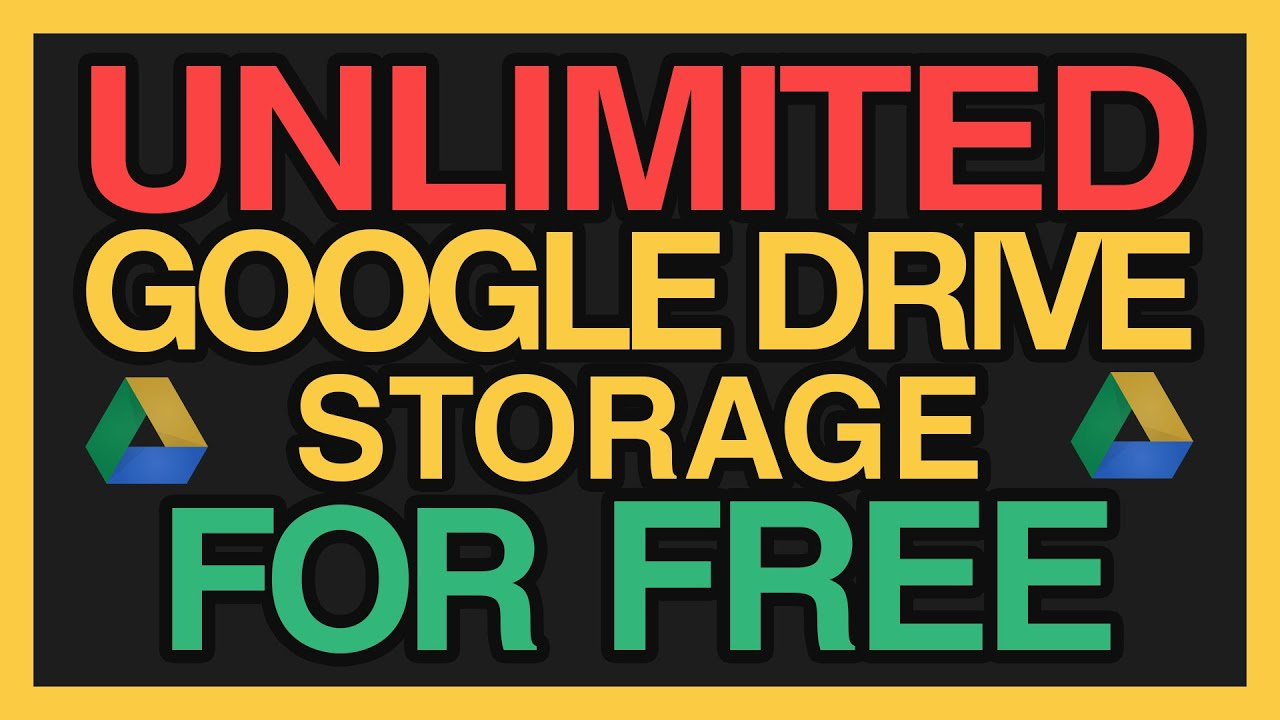 how much free storage do i get with google drive