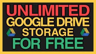 Teorik olarak SINIRSIZ Google Drive Depolama alanı ÜCRETSİZ