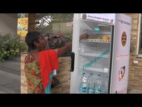 Fridge of kindness in Bengaluru