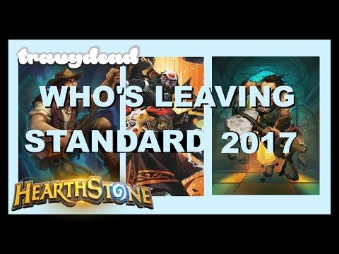 Cards Leaving Standard 2017 (Hearthstone)