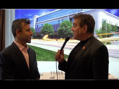 Lightspeed Telecom's Diego Perazza Interviewed at the 8th annual NYC Real Estate Expo