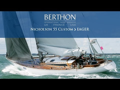 Nicholson 55 Custom (EAGER) Walkthrough - Yacht for Sale - Berthon International Yacht Brokers