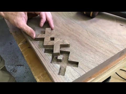 Bow Tie Inlay—How to Inlay Wood—Woodworking DIY