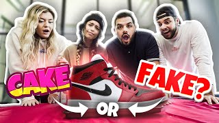 GUESS WHICH ITEM IS CAKE CHALLENGE ft. CouRage, Valkyrae, Nadeshot, BrookeAB
