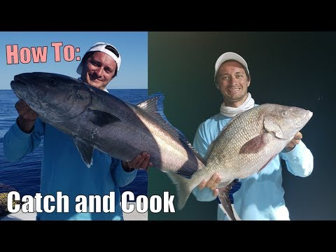 Monster Grunt! White Margate Catch And Cook | Fishing Key Largo, Florida