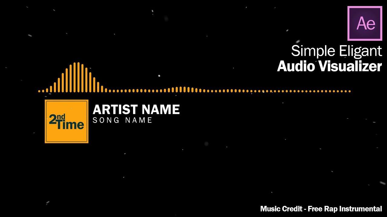 How to create Minimal Audio Visualizer(under 10 minutes)