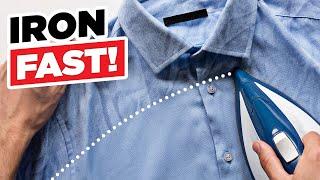 Iron A Shirt Like A Superhero   Ironing Dress Shirts FAST