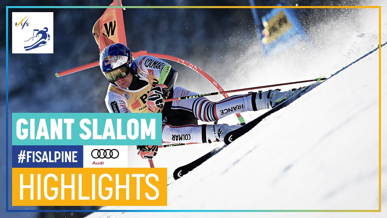 Alexis Pinturault Wins Back-To-Back Giant Slalom in Adelboden