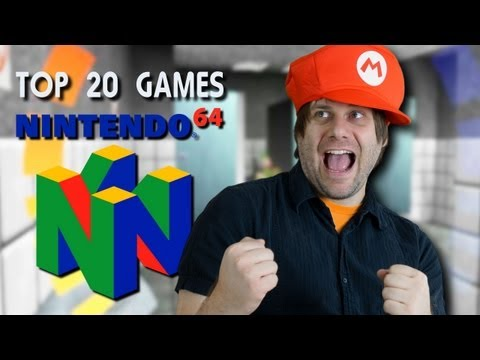 Top 20 Nintendo 64 Games - Chat with Chad