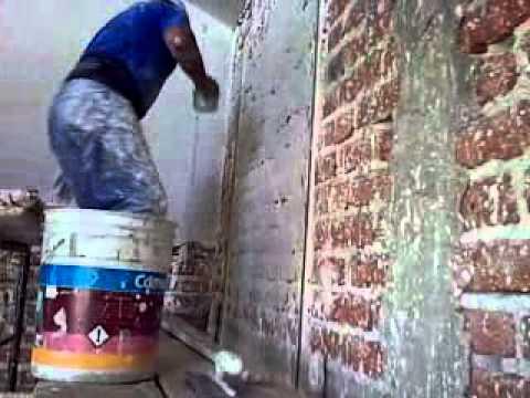 Aplicacion de yeso 1 mp4 youtube - Aplicacion de microcemento en paredes ...