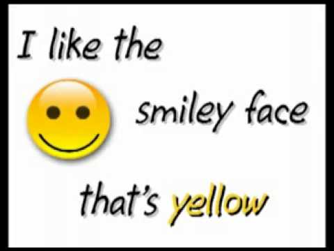 Color Y E L L O W yellow song   Kindergarten   YouTube