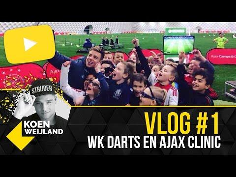 KOEN WEIJLAND VLOG #1 | FINALE WK DARTS & AJAX CLINIC