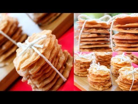 零失败杏仁脆片 杏仁瓦片 新年饼 Chinese New Year Cookies 2019 - Almond Cookies Recipe