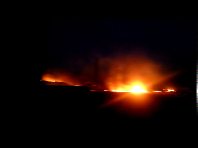 Донецк, 09.04.2018. Пожар на Текстильщике (3)