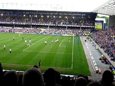 Everton Goal (Leon Osman) - Everton vs Man City 7th May 2011