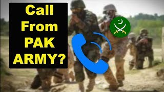 Got Call From PAK ARMY Scam Explained