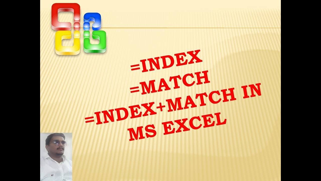 Index And Match Function In Excel