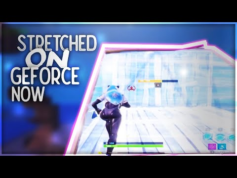 how to play stretched fortnite on geforce now after patch