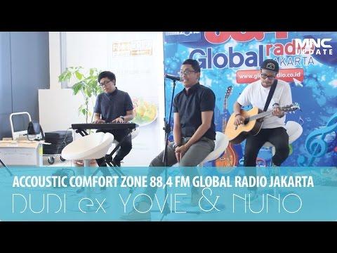 DUDI ex YOVIE & NUNO - JANJI SUCI (ACCOUSTIC COMFORT ZONE GLOBAL RADIO JAKARTA)