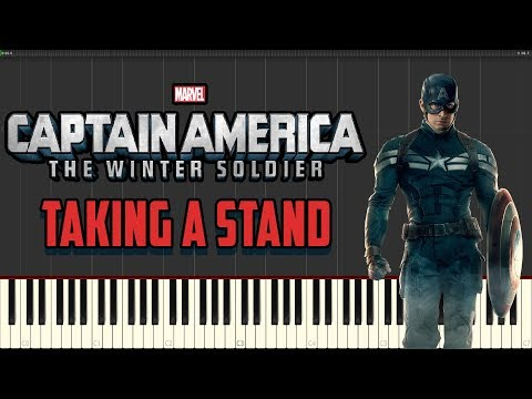 Taking A Stand (Captain America: The Winter Soldier OST) - Henry Jackman - Piano Tutorial
