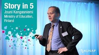 Story in 5: Jouni Kangasniemi, Finnish Education Reform