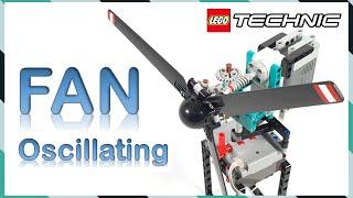 여름 대비 레고 선풍기 만들기 | Oscillating…