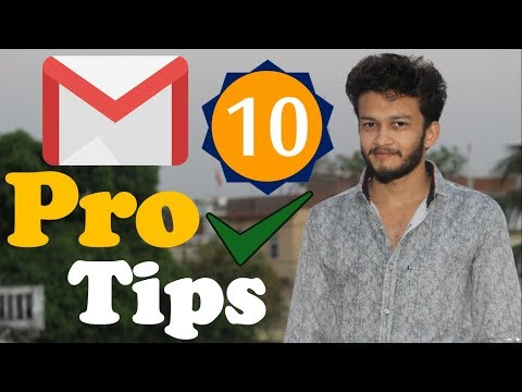 {HINDI} Top 10 Cool Gmail Tips Tricks And Extensions To Help You Manage Email Like A Pro || 2018
