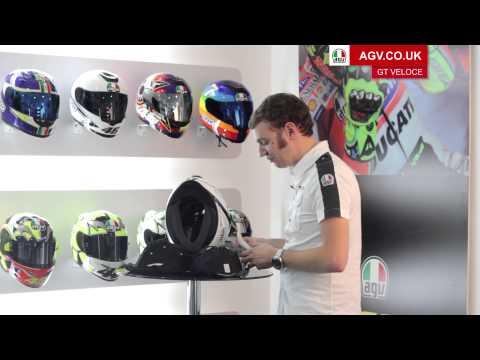 AGV GT Veloce Motorbike helmet