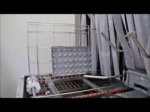 Wasinstallatie met droogblaastunnel (automotive industry)