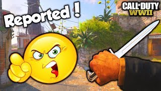 HE REPORTED ME 😂!! (COD WW2 Funny Moments & Reactions)