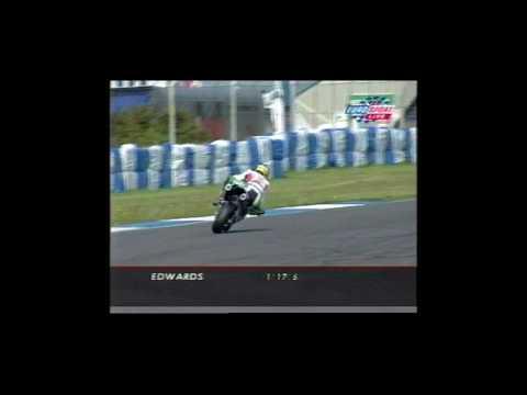 Honda SP-1 Colin Edwards Superpole-Donnington 2000
