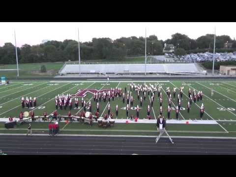 Millard South High School Marching Band Competition Show