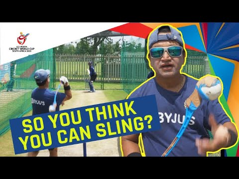 ICC U19 CWC: India's fielding coach gives a tutorial on how to bowl with a sidearm