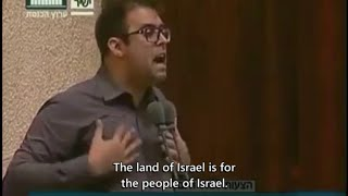 Oren Hazan at the apartheid parliament: