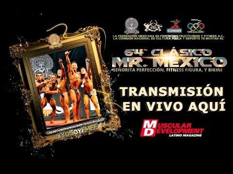 En directo Clasico Mr Mexico 2016