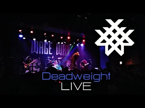 Wage War - Deadweight LIVE! HD Durty Nellies Palatine 2017 1080p 60FPS