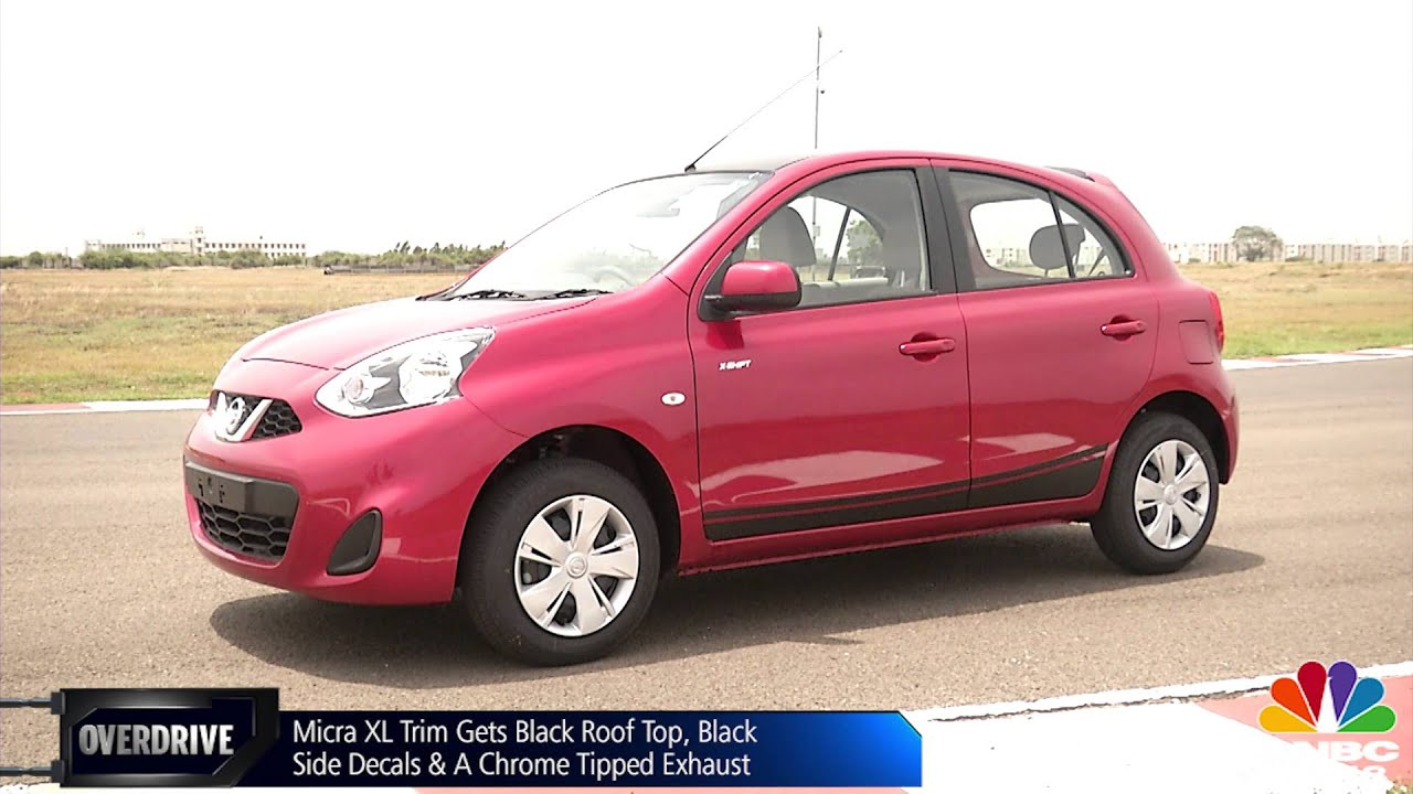 nissan micra xl cvt review by overdrive youtube. Black Bedroom Furniture Sets. Home Design Ideas