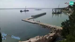 Gradnja lukobrana Marine Moruskva u Novom Vinodolskom
