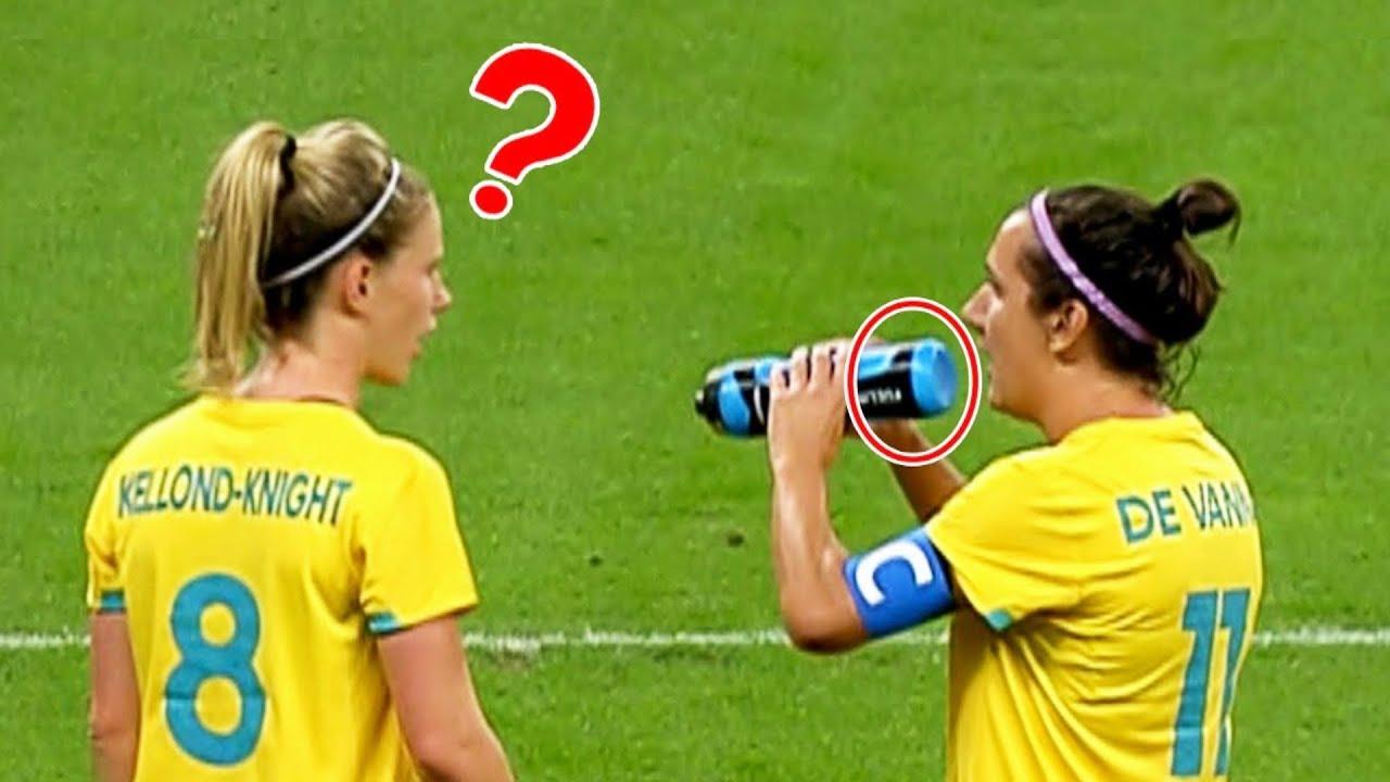 Los Momentos Más Divertidos Con BEBIDAS En El Fútbol ?