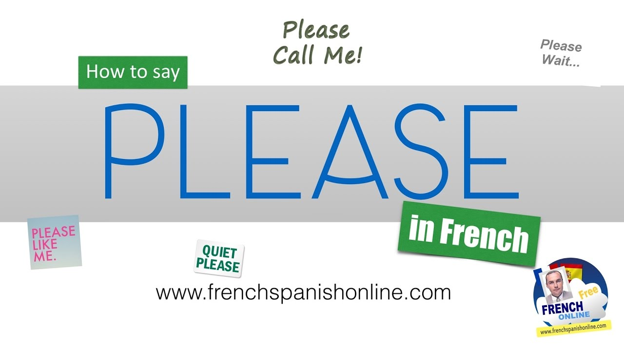 How to say please in french youtube how to say please in french solutioingenieria Gallery